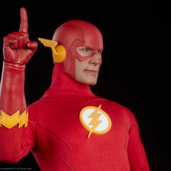 The Flash Sixth Scale Figure Pointing Gesture Finger Close Up