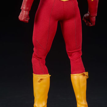 The Flash Sixth Scale Figure Legs Close Up Back