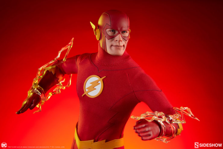 Harness the Speed Force in Your Collection with The Flash Sixth Scale Figure!
