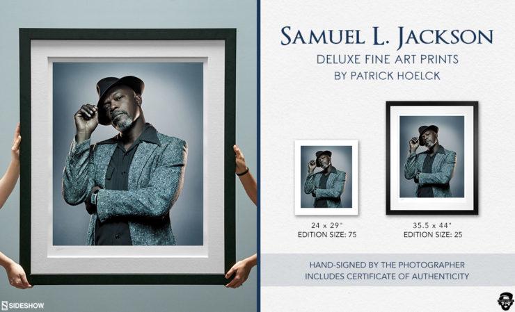 Patrick Hoelck Samuel L. Jackson Deluxe Fine Art Print