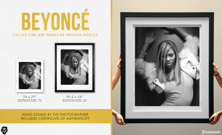 Patrick Hoelck Beyonce Deluxe Fine Art Print