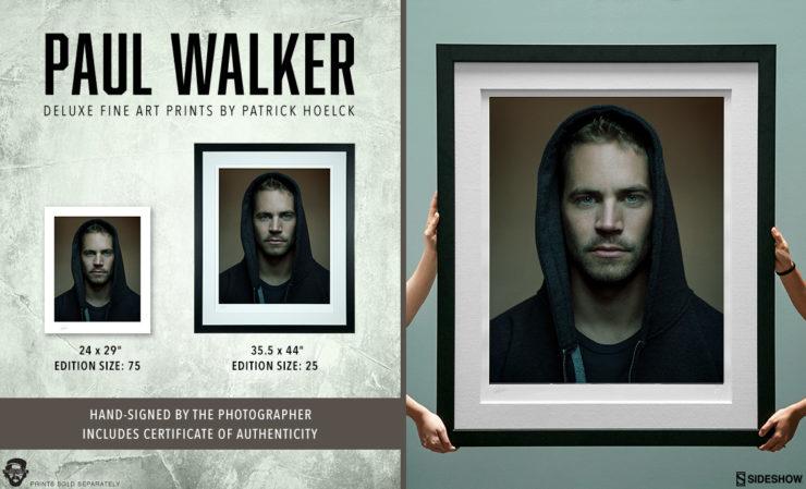 Patrick Hoelck Paul Walker Deluxe Fine Art Print