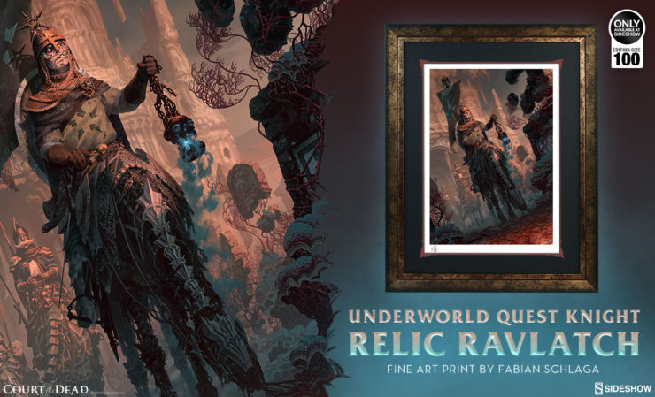 Underworld Quest Knight Relic Ravlatch Fine Art Print