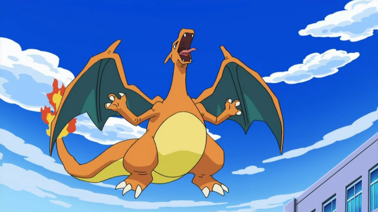 Charizard from Pokemon- Top 10 Dragons in Gaming