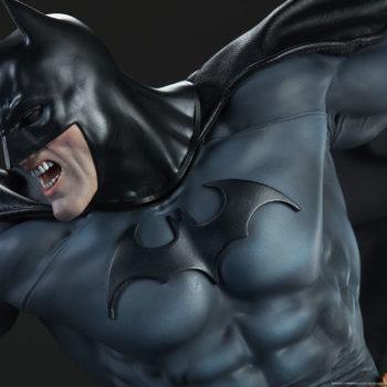 Batman vs Superman Diorama Close Up on Batman Suit