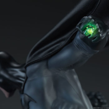 Batman vs Superman Diorama Close up on Kryptonite Ring
