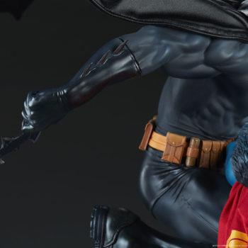 Batman vs Superman Diorama Batman Cape View