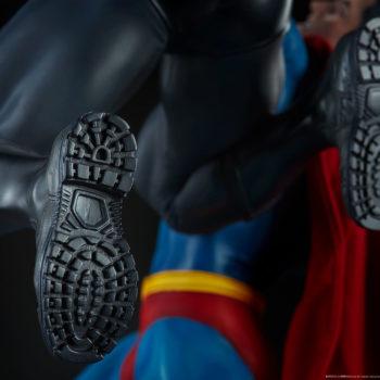 Batman vs Superman Diorama Batman Shoes Detail