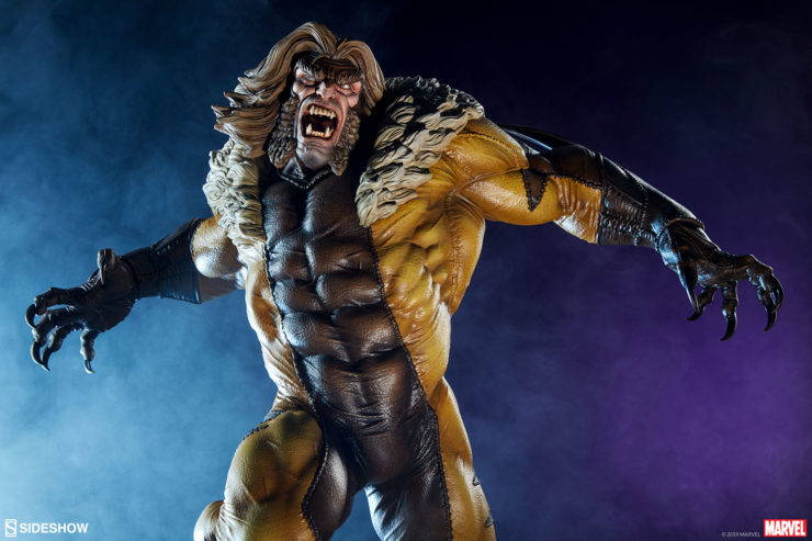 The Sabretooth Premium Format™ Figure Joins Your Brotherhood of X-Men Collectibles