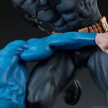 Batman vs Superman Diorama Close up on Superman Arm