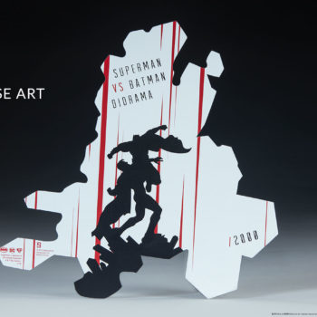 Batman vs Superman Diorama Base Artwork