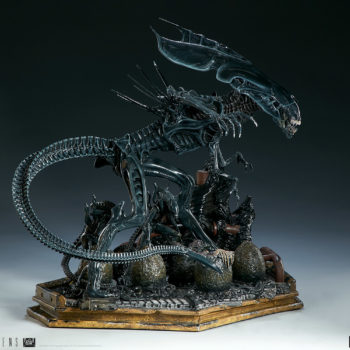 Alien Queen Maquette Turnaround 5- Sideshow and Legacy Effects