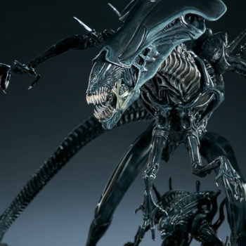 Alien Queen Maquette Portrait Close Up 1- Sideshow and Legacy Effects
