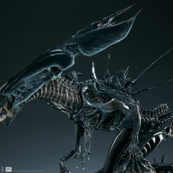 Alien Queen Maquette Profile Close Up 2- Sideshow and Legacy Effects