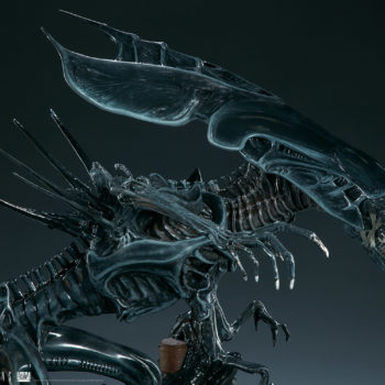 Alien Queen Maquette Close Up 3- Sideshow and Legacy Effects