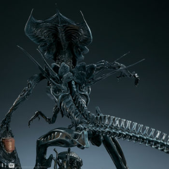 Alien Queen Maquette Back View- Sideshow and Legacy Effects