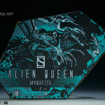 Alien Queen Maquette Bottom of the Base Artwork- Sideshow and Legacy Effects