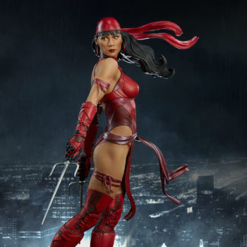 Elektra Premium Format Figure with city background
