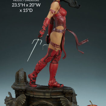 Elektra Premium Format Figure Dimension Specifics