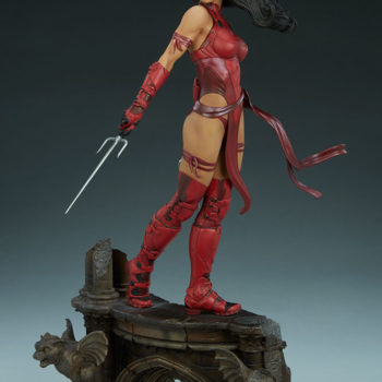 Elektra Premium Format Figure Side view alternate 2