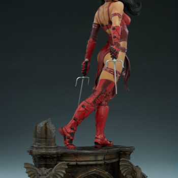Elektra Premium Format Figure Side View Left