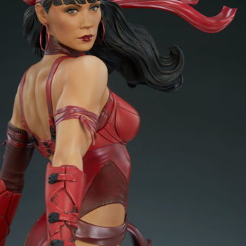 Elektra Premium Format Figure Angled Face View