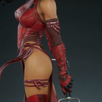 Elektra Premium Format Figure Left Hand with Sai