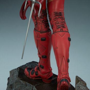 Elektra Premium Format Figure boots back view