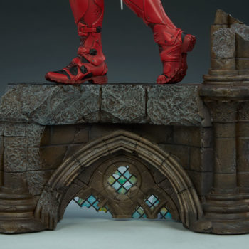 Elektra Premium Format Figure Base and Boots left view