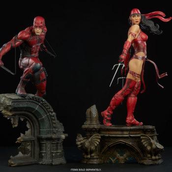 Elektra Premium Format Figure with Daredevil Premium Format Figure