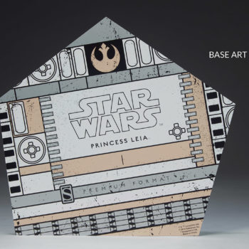 Princess Leia Premium Format™ Figure Exclusive Edition Base Artwork