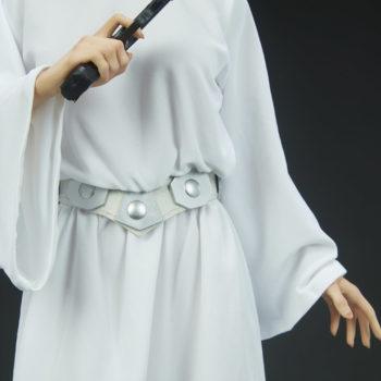Princess Leia Premium Format™ Figure Dress and Belt Detail