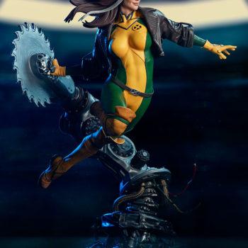 Rogue Maquette Dramatic Lit Shot Side-Profile