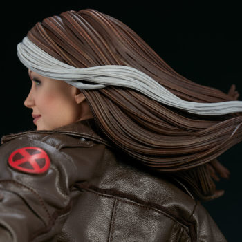 Rogue Maquette Close Up on Hair and Side Profile