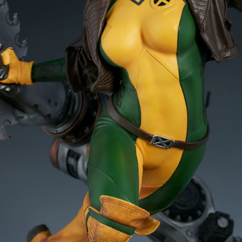 Rogue Maquette Body-Suit Close Up and Details