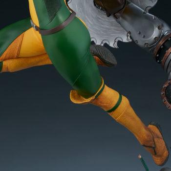 Rogue Maquette Figure Legs Detail Shot