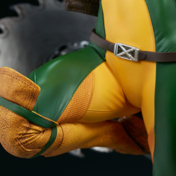 Rogue Maquette Costume and Belt Detail