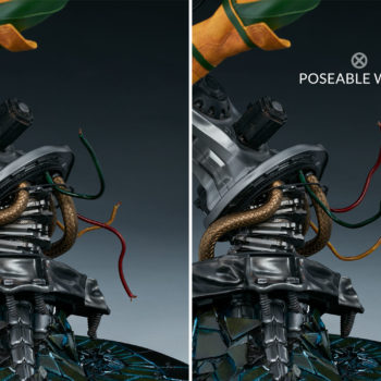 Rogue Maquette Poseable Wires on Buzz-Saw