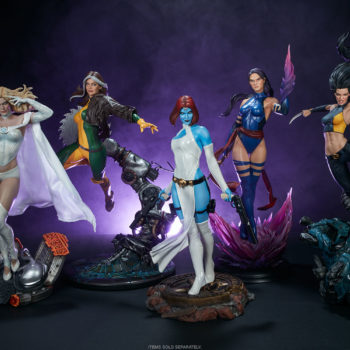 Rogue Maquette with the Women of the X-Men Collection- Emma Frost, Mystique, Psylocke, X-23