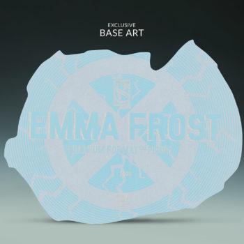 Emma Frost Premium Format Figure Exclusive Base