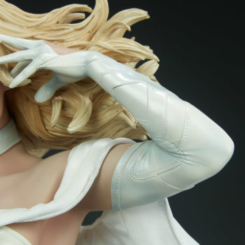 Emma Frost Premium Format Figure Hair and face Side View