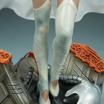 Emma Frost Premium Format Figure Base and Emma Frost's Knees