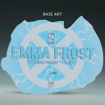 Emma Frost Premium Format Figure Base
