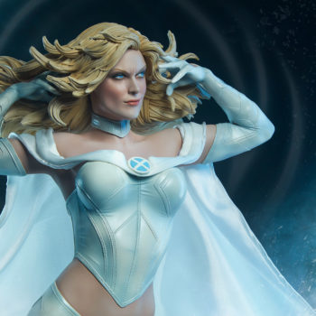 Emma Frost Statue Using her telepathic powers