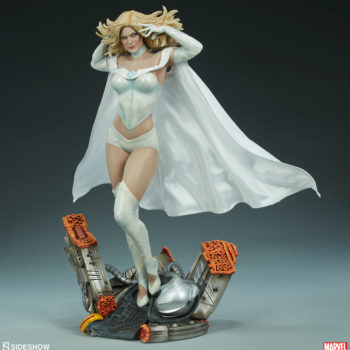 Emma Frost Premium Format Figure 3/4ths angle