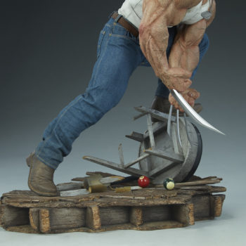 Logan Premium Format™ Figure Base Detail Shot 1