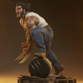 Logan Premium Format™ Figure Dramatic Lit Shot 3