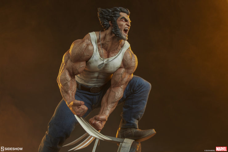 The Logan Premium Format™ Figure is Ready to Brawl in Your Marvel Collection, Bub
