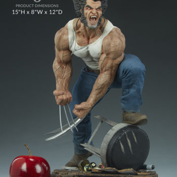 "Logan Premium Format™ Figure Measurements- 15"" H x 8"" W x 12"" D"