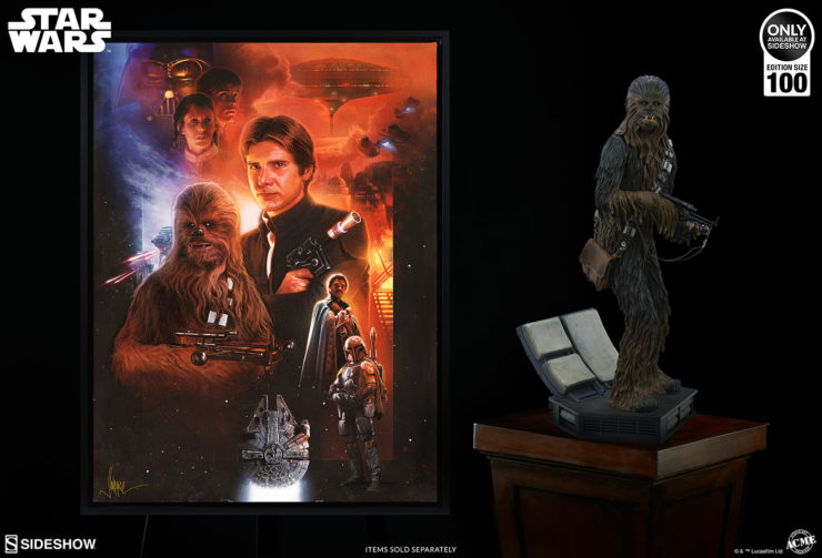 The Rebels and Scoundrels Fine Art Print by Paul Shipper Adds Roguish Charm to Your Galaxy of Star Wars Artwork